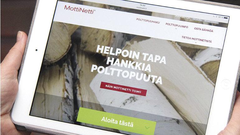 Klikkaa itsesi polttopuukauppaan - mottinetti.fi