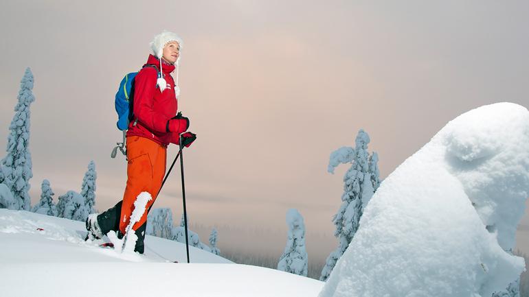 Lumikenkäkävely, Koli Activ Oy, Katariina Okkonen