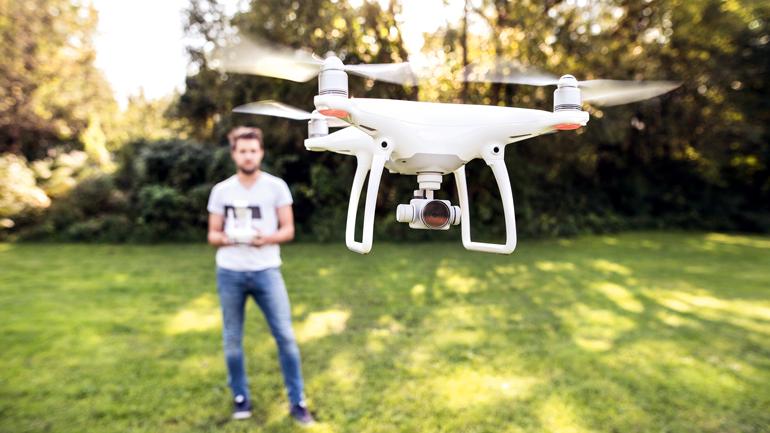 Drone, kuvauskopteri, ilmakuva
